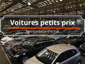 Conseils d'achat : voitures petit budget